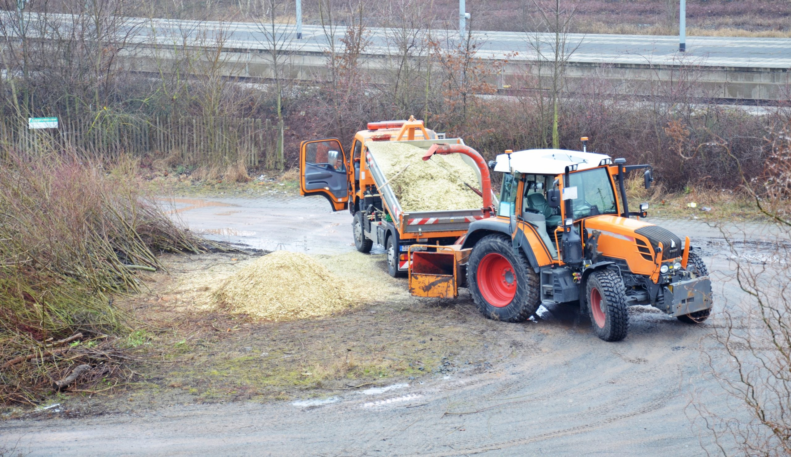 Kommunen - Holzhäcksler Holzschredder